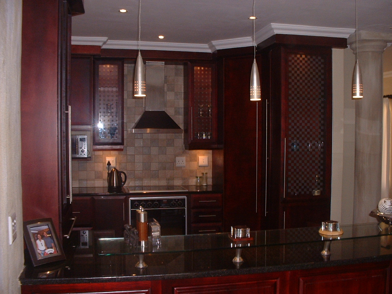 Kitchen Color Ideas Brown Cabinets