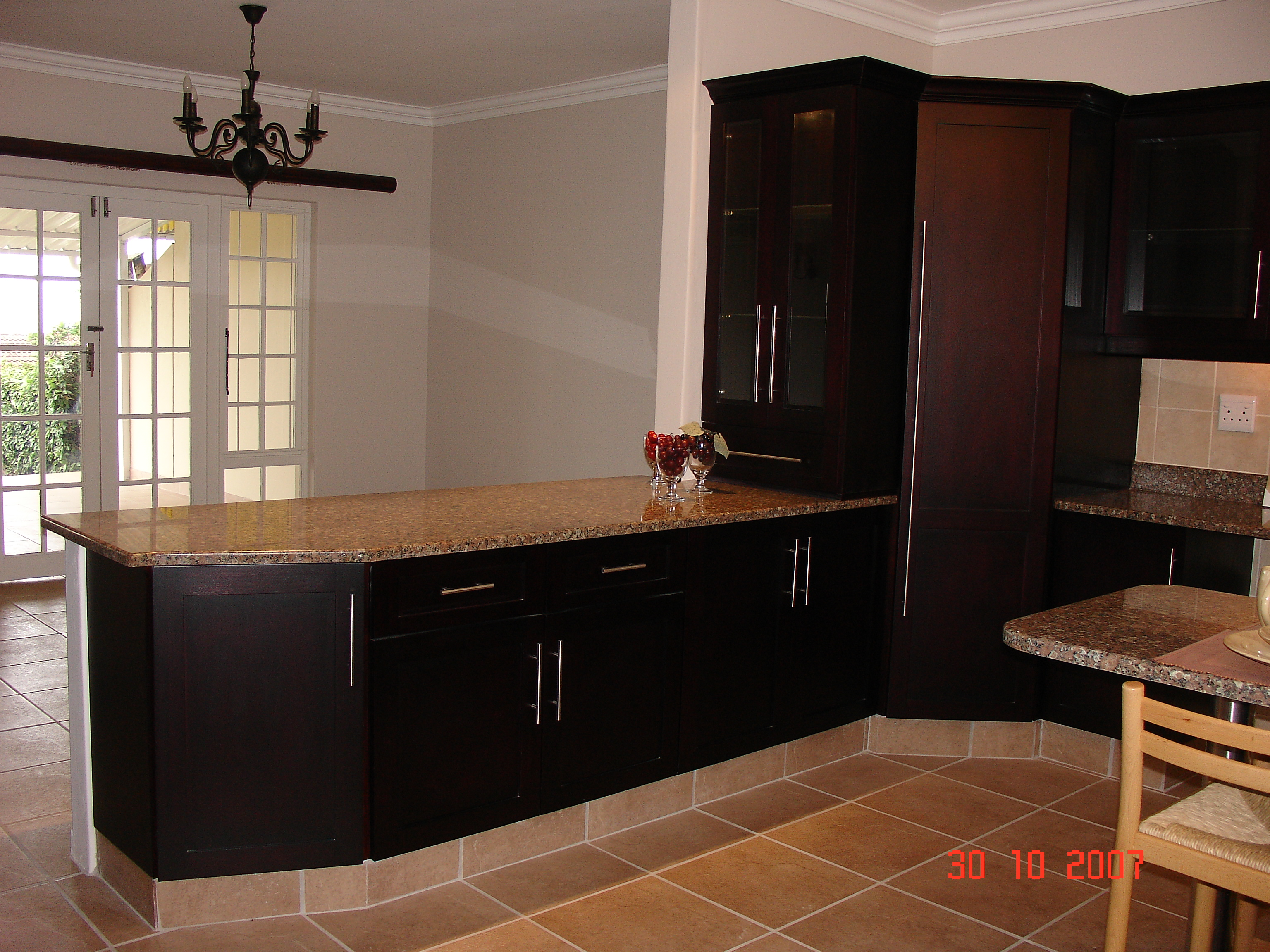 Mahogany Cupboards Nico S Kitchens