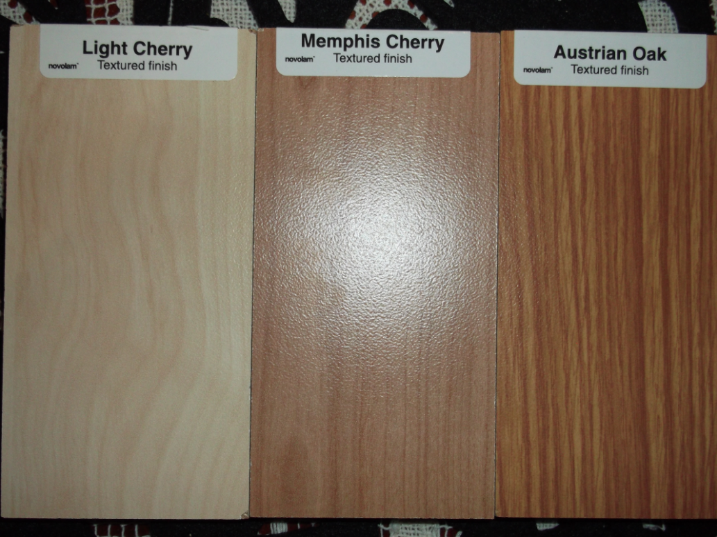 Light Cherry Cabinets