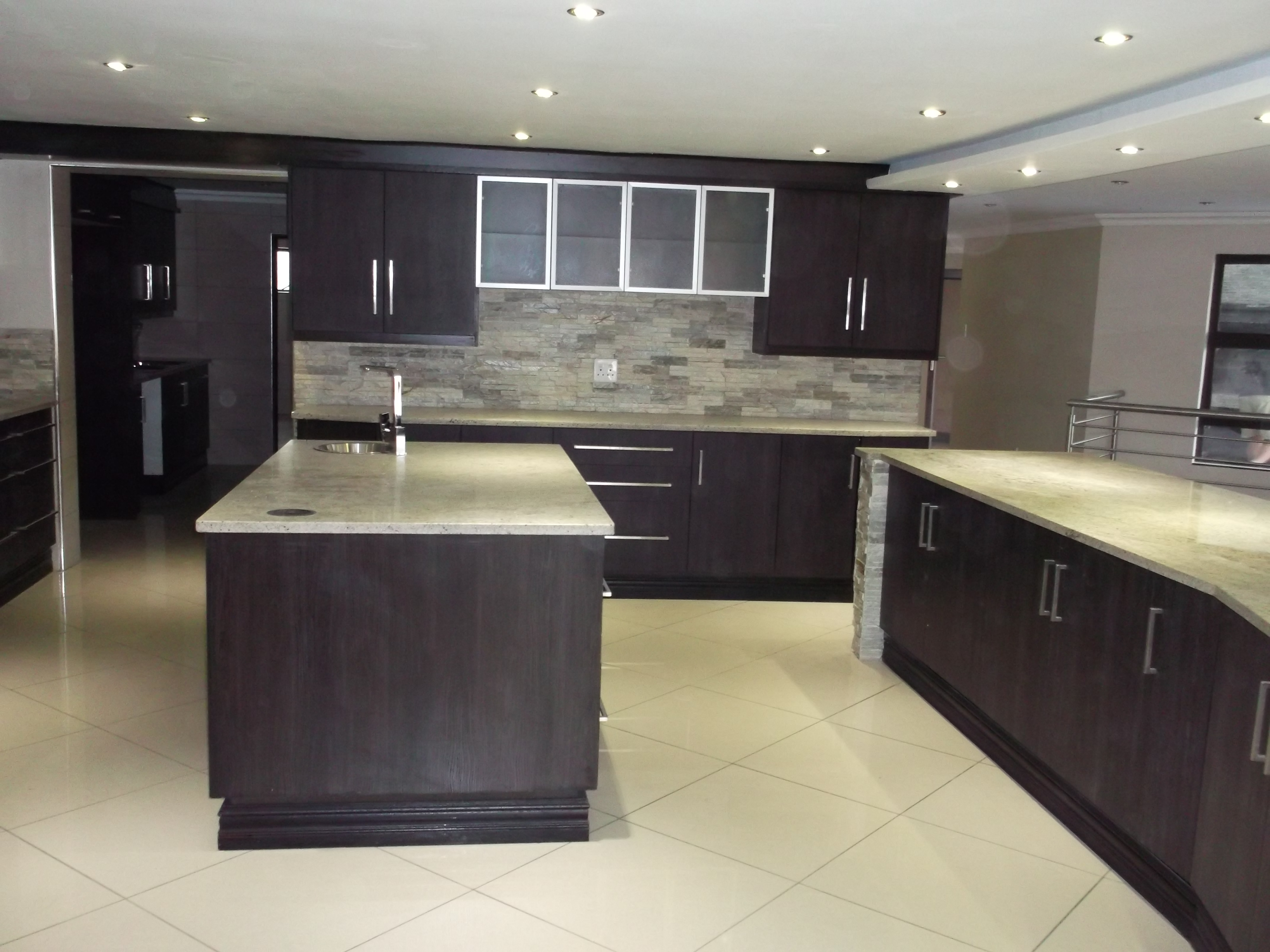 Foil wrap kitchens nico 39 s kitchens South african kitchen designs
