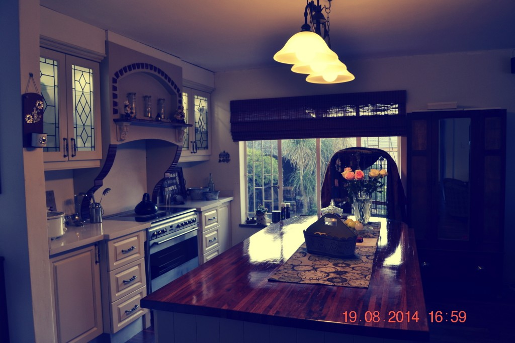 Retro country kitchen