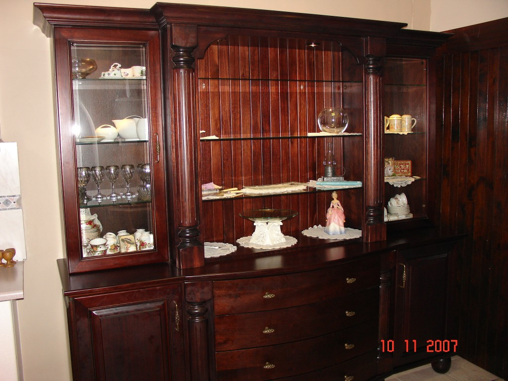 Large Wooden Display Unit Nico S Kitchens