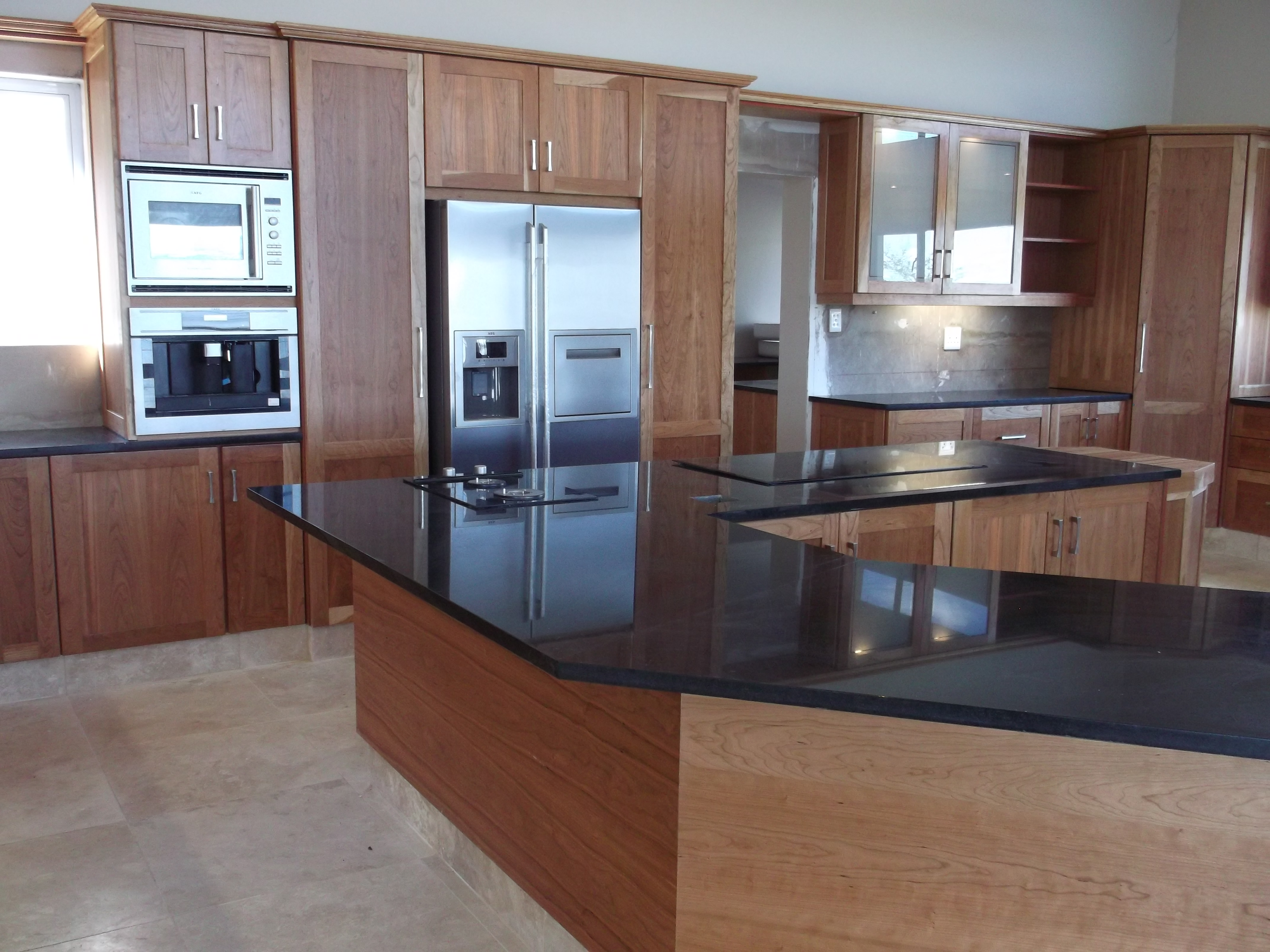 built in kitchen cabinet cherry kitchen cupboards nico s kitchens 12668