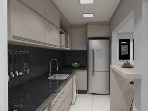 Luxury apartment kitchen
