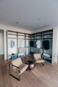 Open Bedroom Cupboard